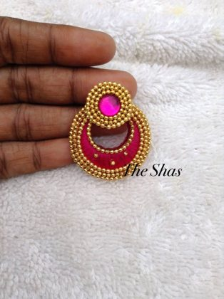 Best Hand-made Silk Thread Jhumkas Earring Designs for parties