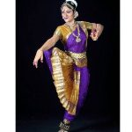 Bharatanatyam Costume Color Combinations for kids