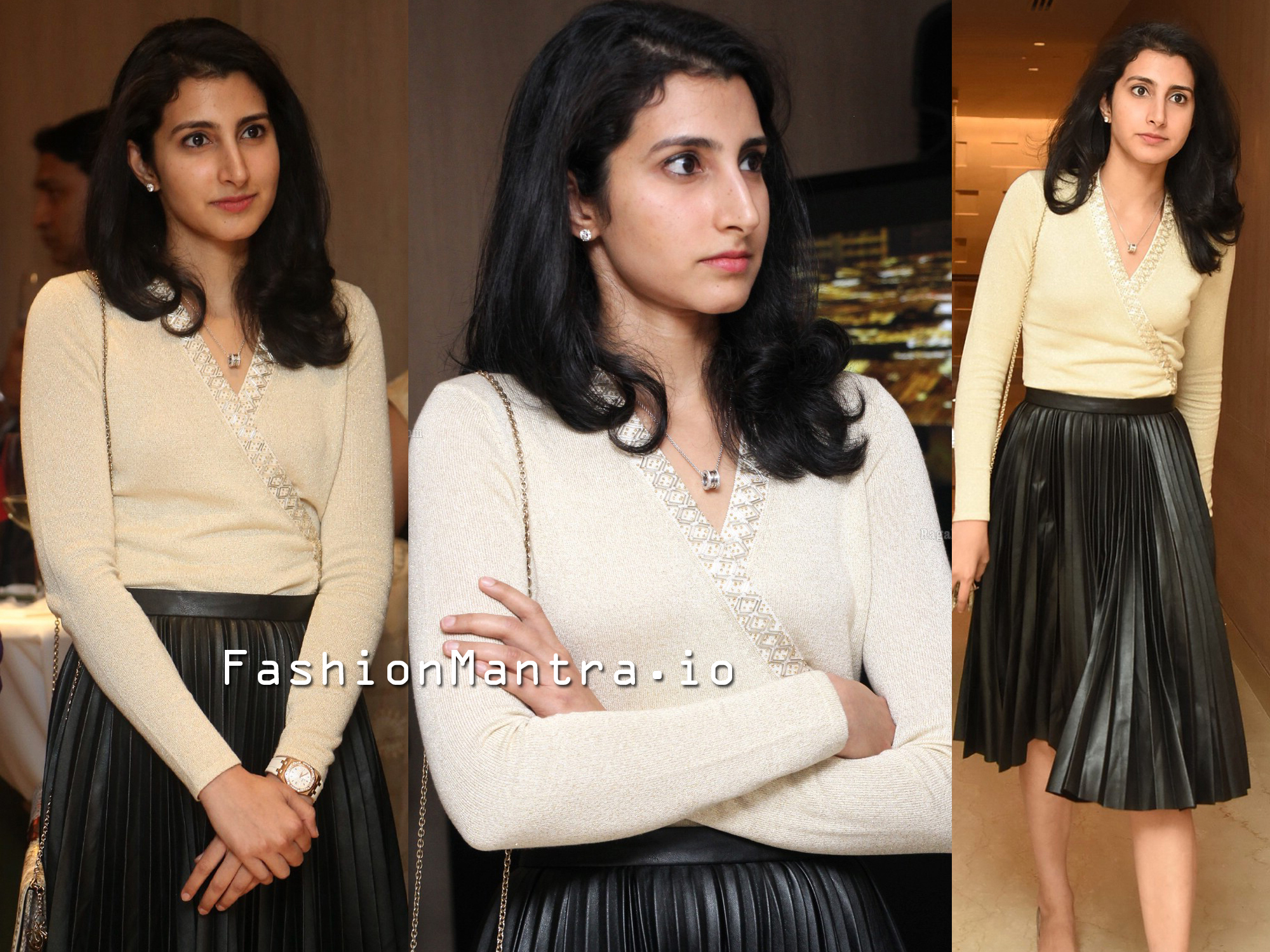 Brahmani Nara at Teach For Change Vido Launch Event