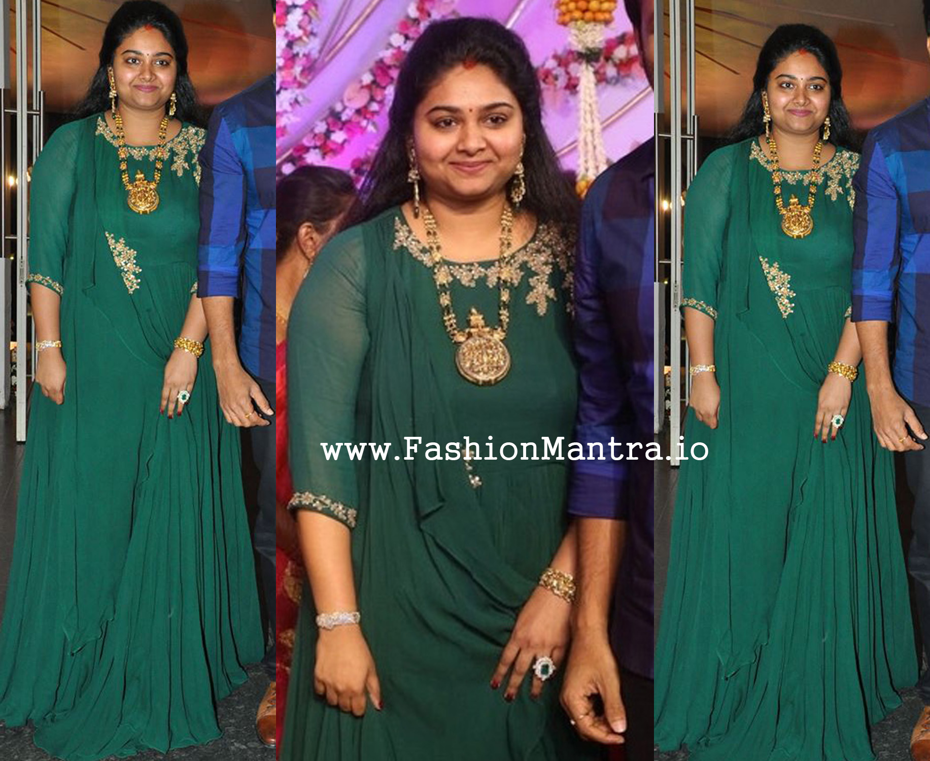 Gopichand wife Reshma in Anarkali