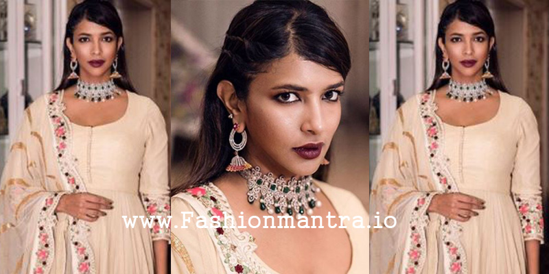 Lakshmi manchu in anarkali suit
