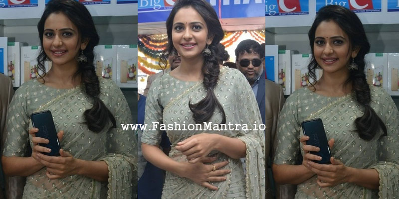 Rakul preet at Big c show room opening photo