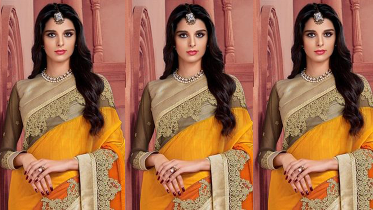 Embroidery Saree Designs | Embroidery Sarees