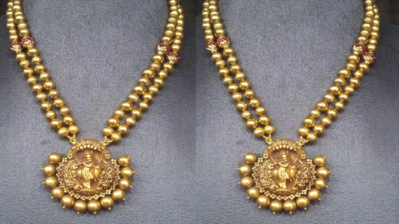 Ball Shape Necklace Designs