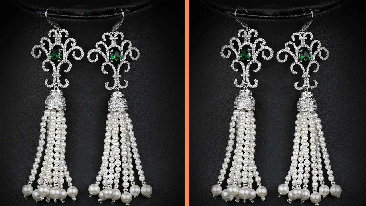 Pearls Earring Design Ideas