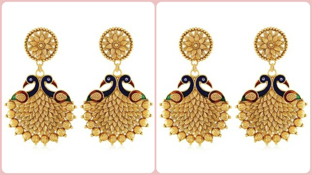 Stylish Peacock Earring Designs