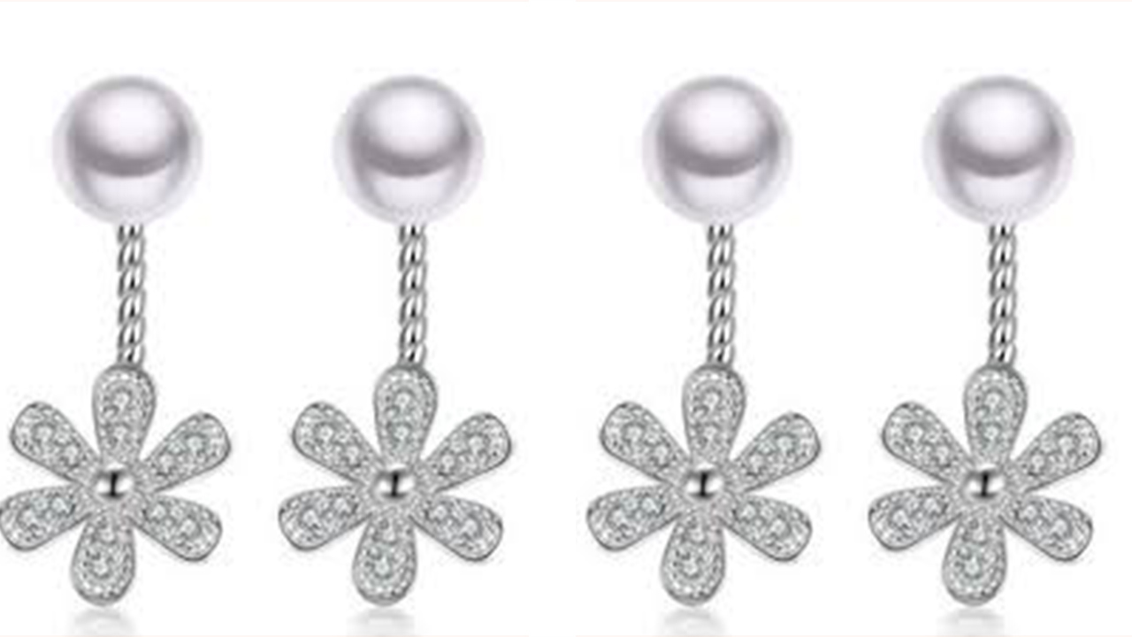 Top Pearls Long Earring Designs