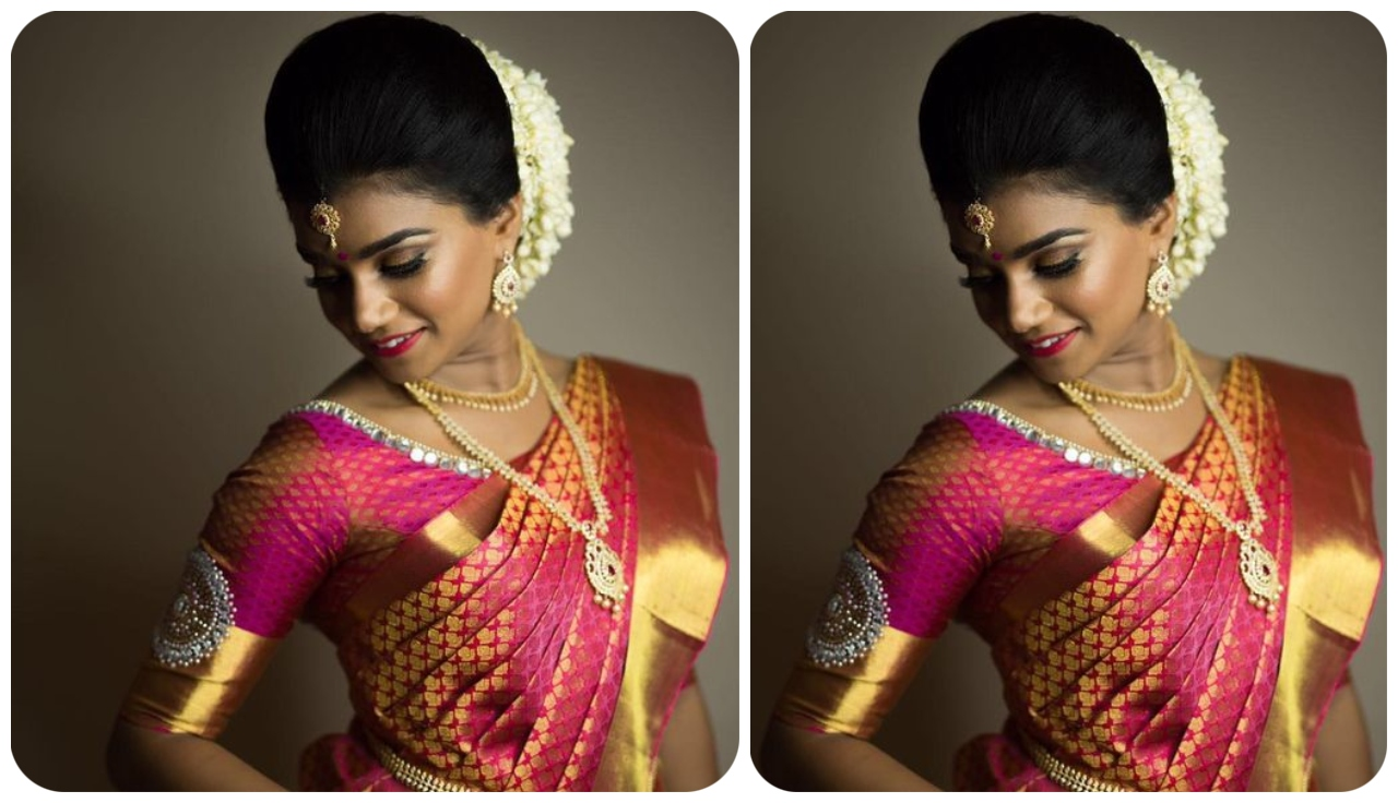 Different Color Pink Pattu Sarees | Pink Shades Saree In Different Types