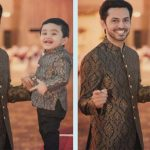 Traditional Same Dresses Father And Son