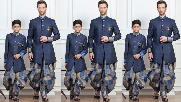 Father And Son Matching Dresses | Traditional Same Dresses Father And Son