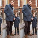 Father And Son Coats