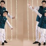 Indian Ethnic Wear Father And Son