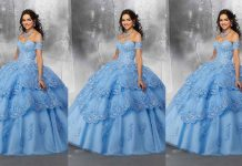 Stylish Blue Color Long Netted Frocks   Blue Color Long Netted Frocks