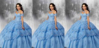 Stylish Blue Color Long Netted Frocks | Blue Color Long Netted Frocks