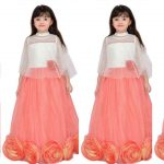 Best Children Netted Long Frocks