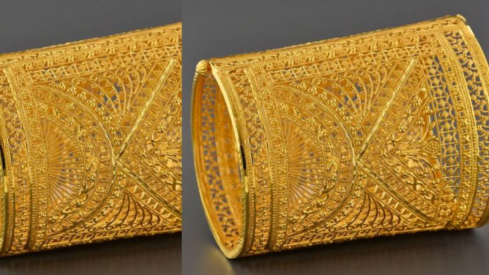 Traditional Golden Jali Bangles | Jali Bangles