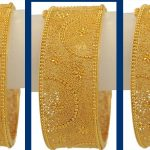 Golden Jali Bangles