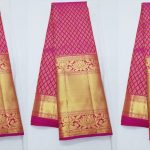 Latest Kanchipuram Pattu Sarees In Pink Color