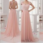 Latest Pink Color Long Netted Frocks