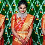 Kanchipuram Pattu Sarees In Red Color